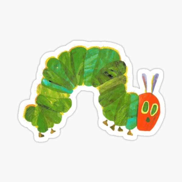 The Very Hungry Caterpillar Cute Animals Sticker