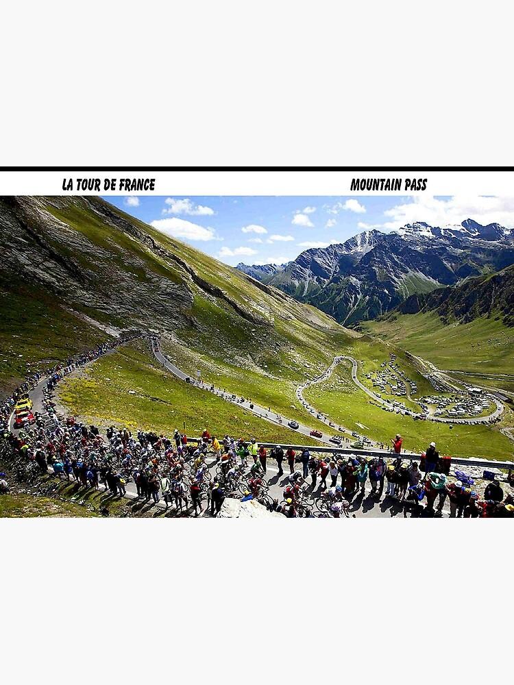 TOUR DE FRANCE: Vintage Bike Racing Print by posterbobs