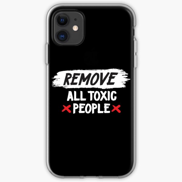 Toxic People iPhone Soft Case