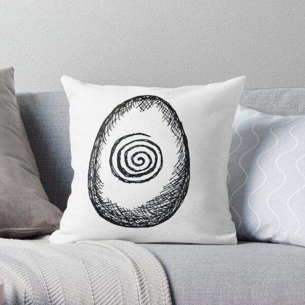 Druid Egg Throw Pillow