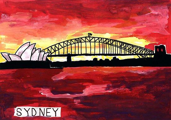 Sydney Sunset by John Douglas