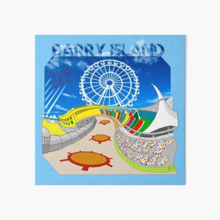 Barry Island Whitmore Bay Art Board Print