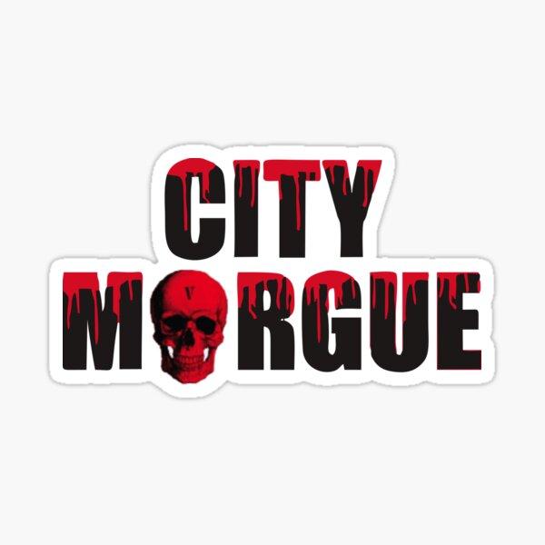 Morgue-City Sticker