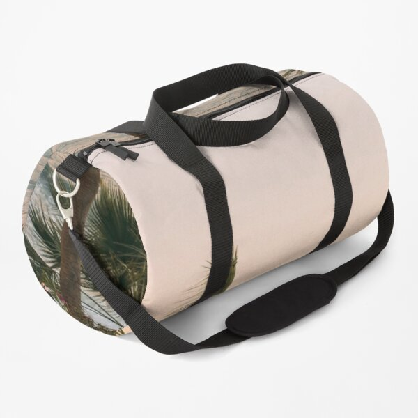 DI COLLECTION-WIND BLOWING PALM TREES  Duffle Bag
