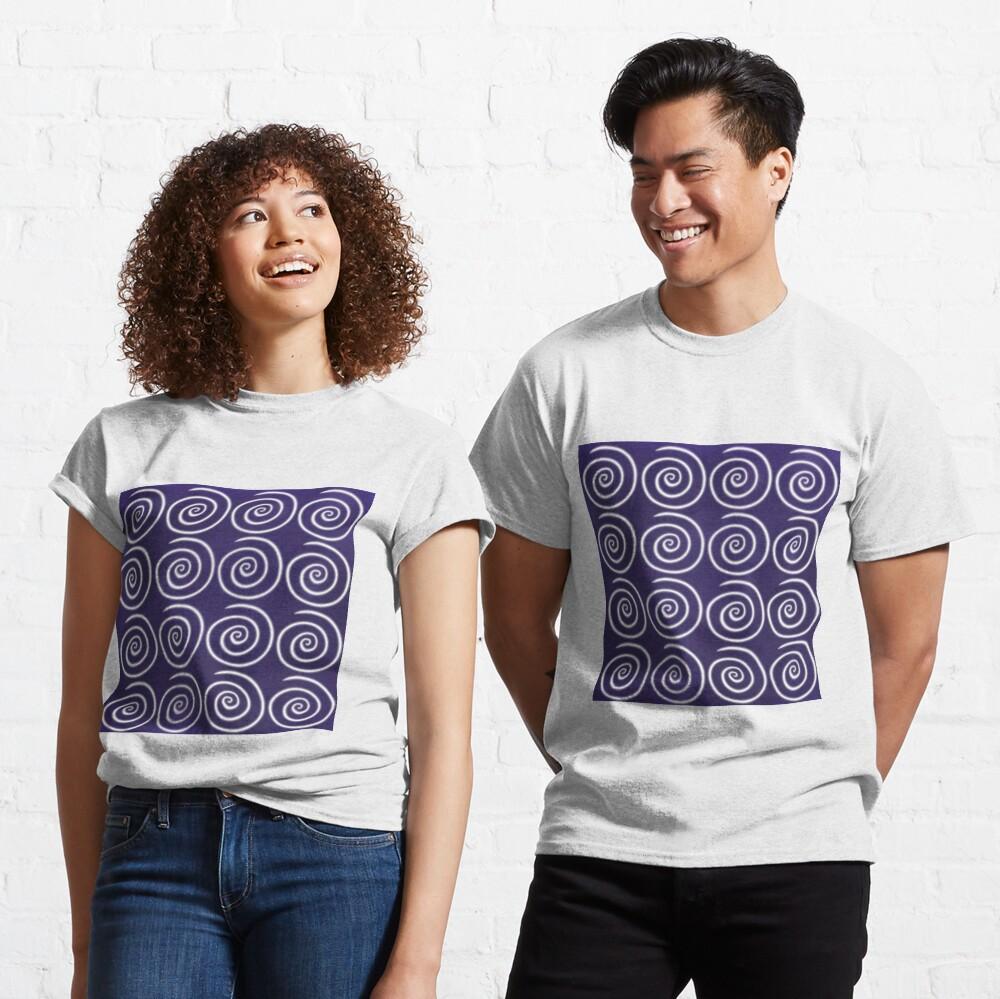 Purple Swirls Classic T-Shirt