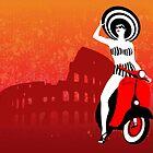 Vespa Woman by SFDesignstudio