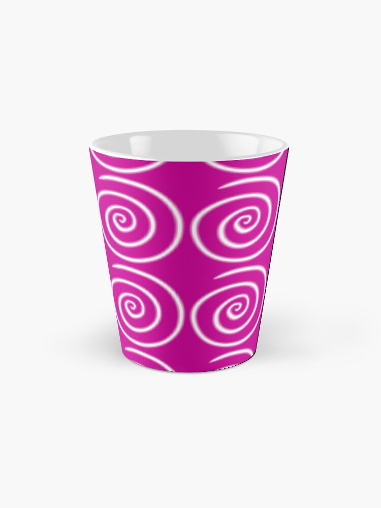 Alternate view of Pink Swirls Mug