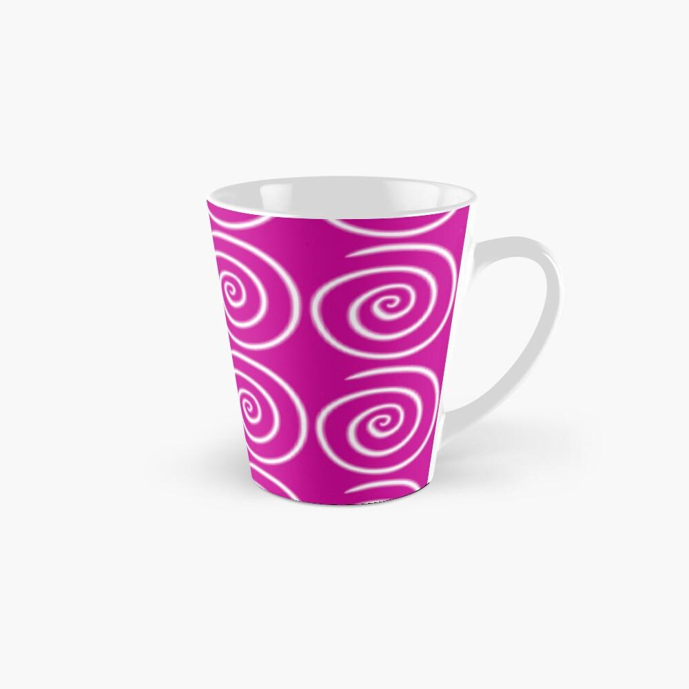 Pink Swirls Mug