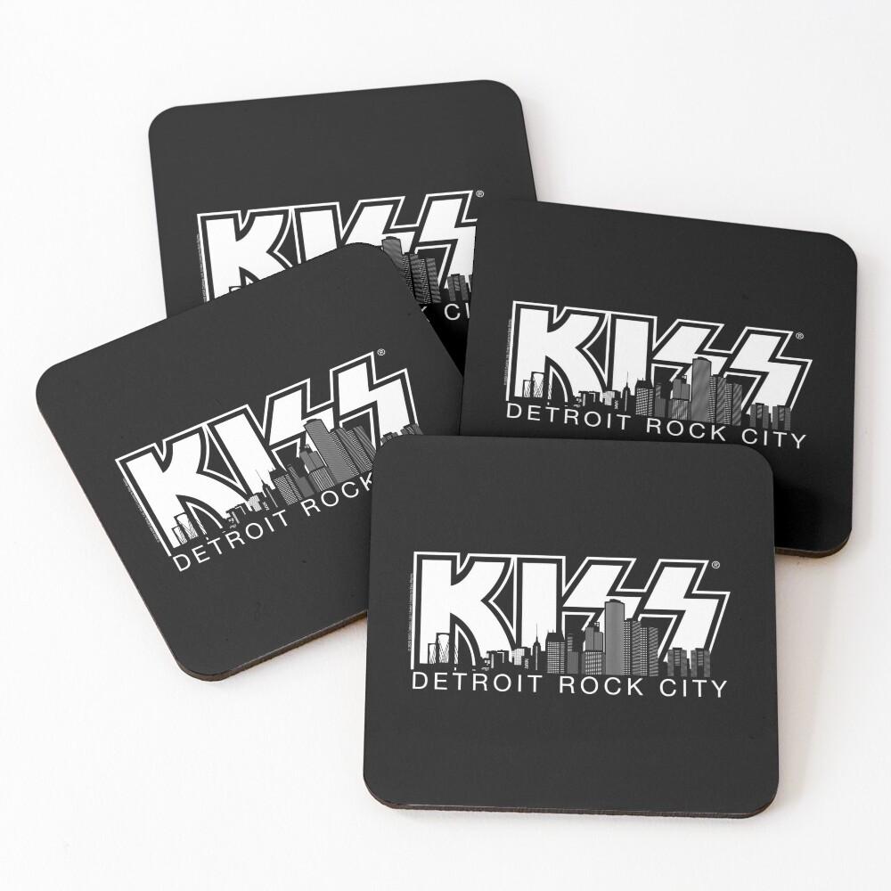 Kiss - Detroit Rock City - silhouette Coasters (Set of 4)
