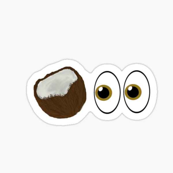 Consider These Coconuts Sticker