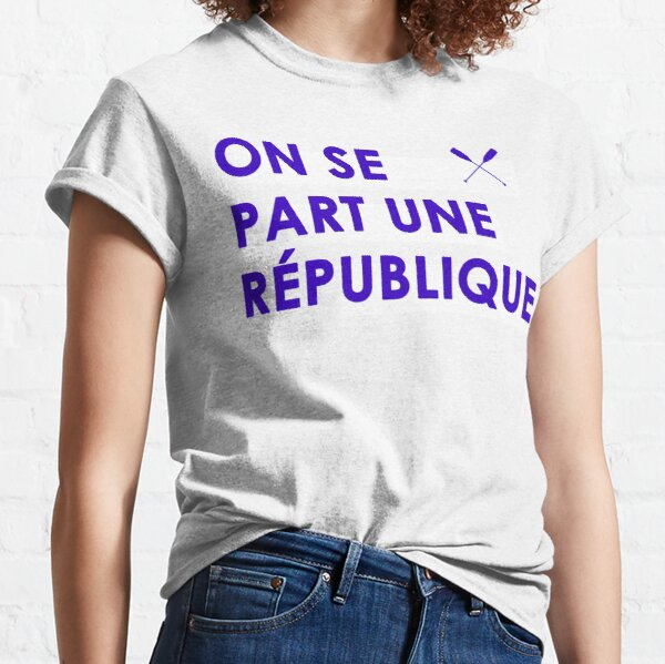 We share a republic Classic T-Shirt