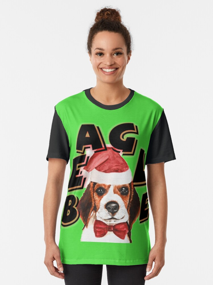 Alternate view of BEAGLE Graphic T-Shirt