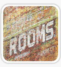 Rooms  Sticker