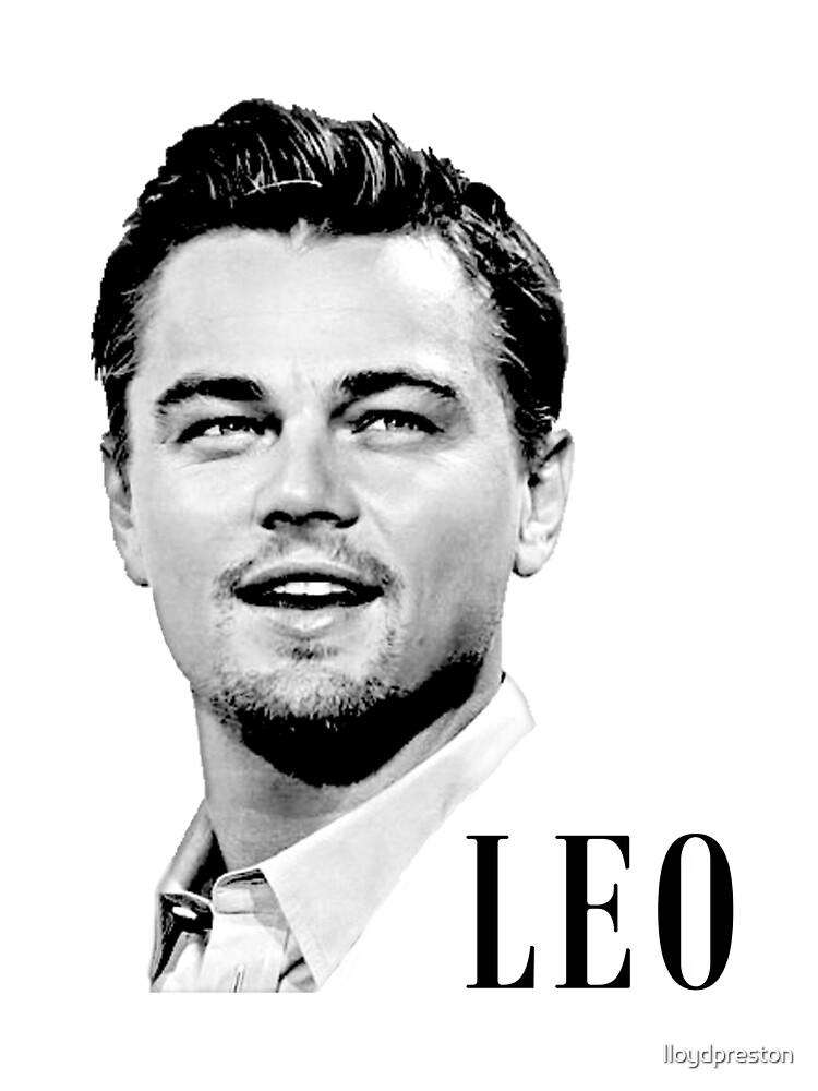 Leonardo Dicaprio by lloydpreston