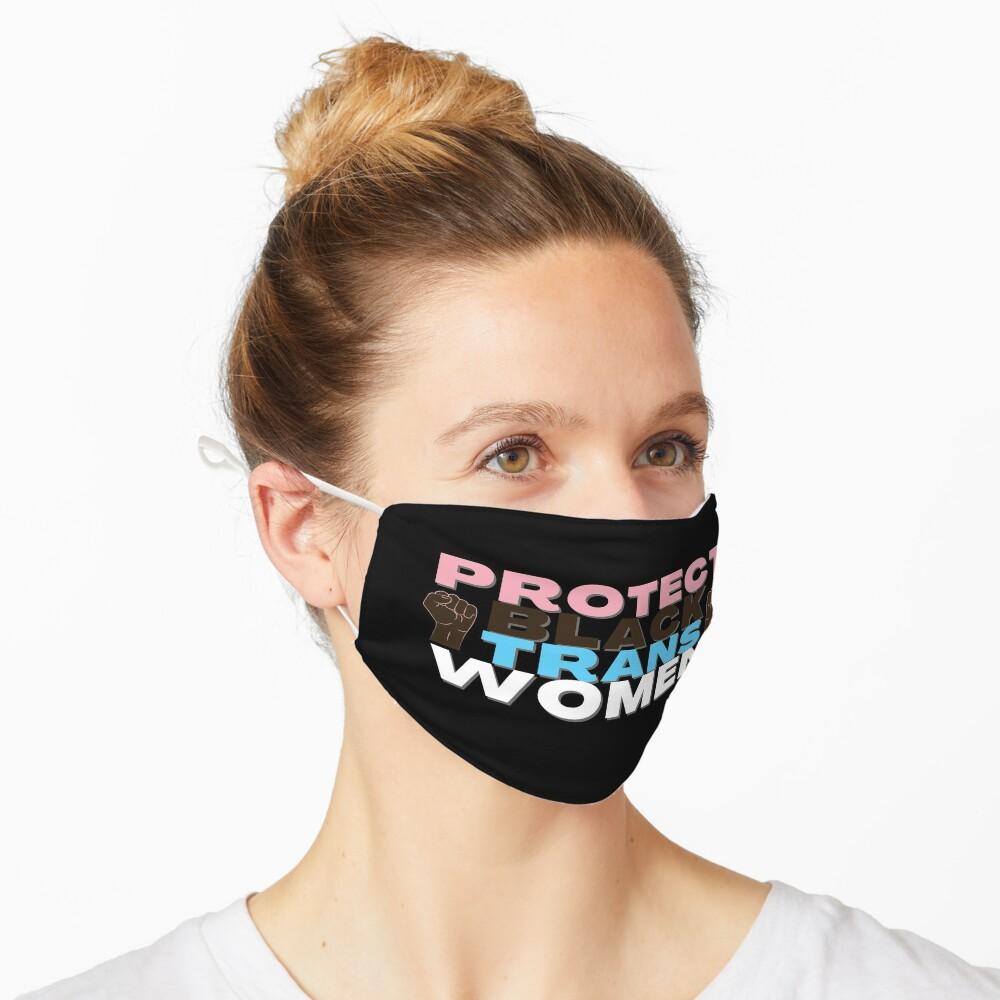 Protect Black Trans Women Mask
