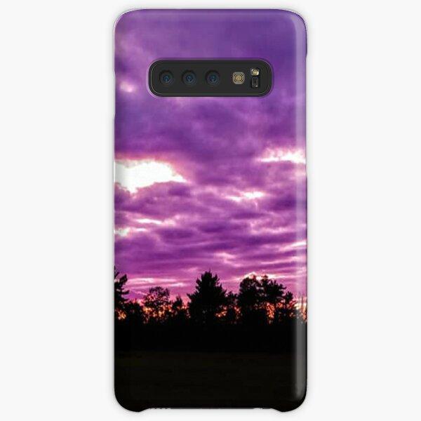 Purple Sunset Samsung Galaxy Snap Case