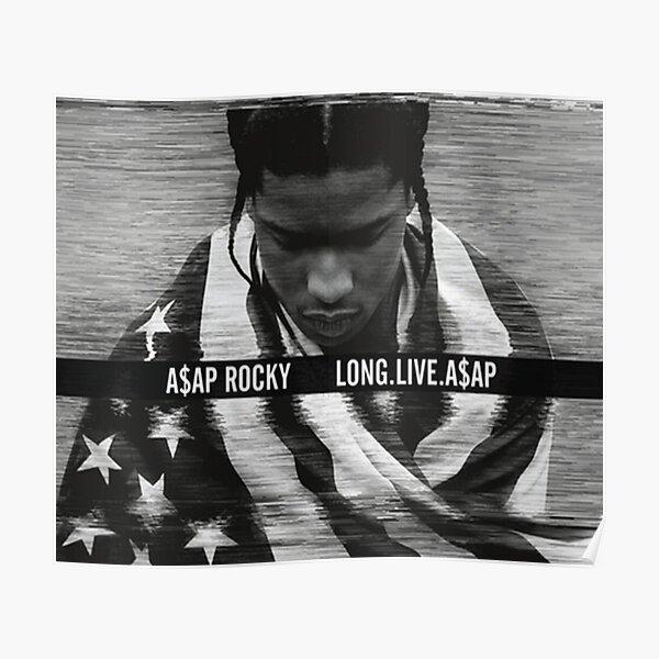 ASAP Rocky Long Live Poster