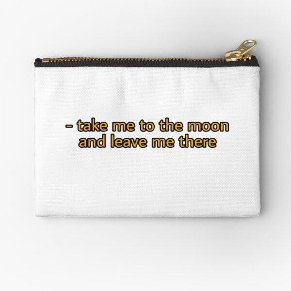 quote  Zipper Pouch