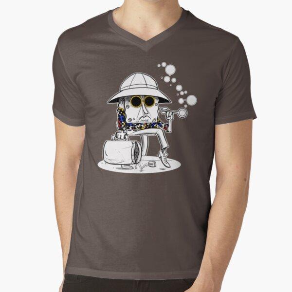 Roberto Sponge - Dark V-Neck T-Shirt