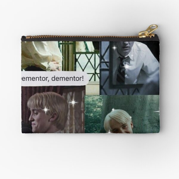 Draco Malfoy Collage  Zipper Pouch