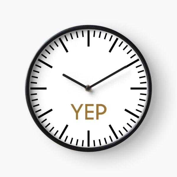 Yep Clock Clock
