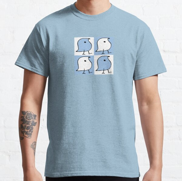 Blue and White Wugs Classic T-Shirt