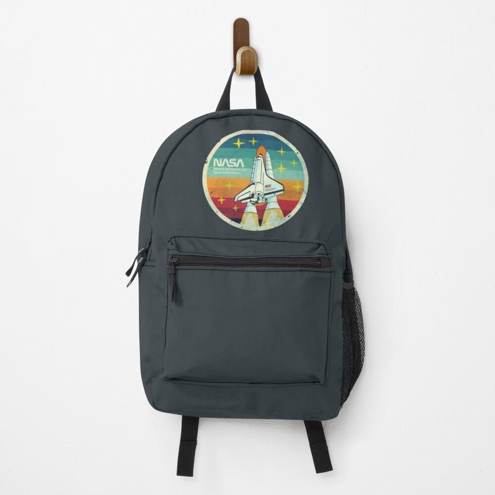 Nasa Atlantis Vintage Experience  Backpack