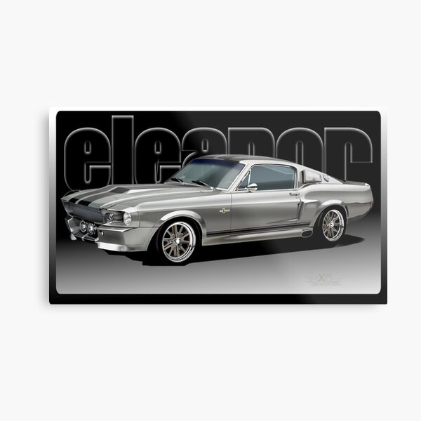 1967 Shelby Cobra GT Eleanor Art. by Jake Dault Metal Print