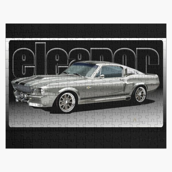 1967 Shelby GT Eleanor Art. by Jake Dault Jigsaw Puzzle