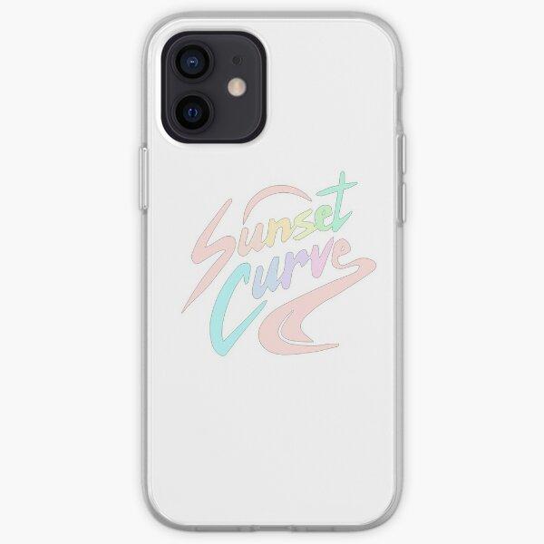 JULIE Y LOS FANTASMAS: Sunset Curve Funda blanda para iPhone