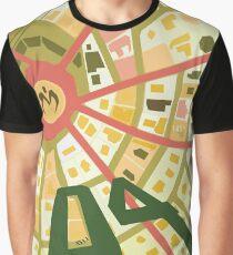 Morioh Town - JJBA Part 4 Graphic T-Shirt