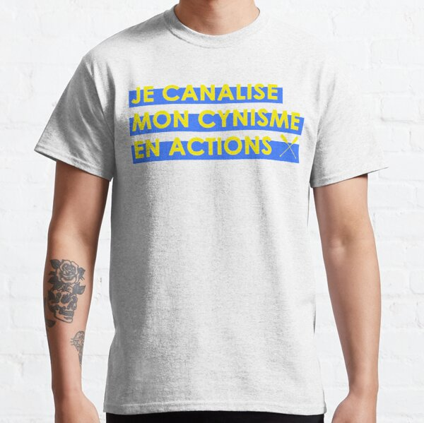 I channel my cynicism into actions Classic T-Shirt