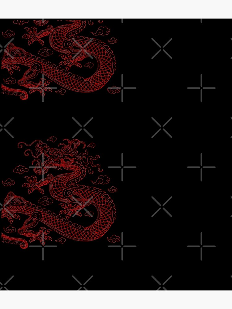 Chinese Red Dragon by SoccaTamam