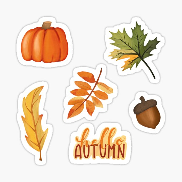 Autumn Set Sticker