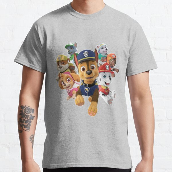 Kids Favorite Paw Patrol Cartoon Characters Collection 2020 Classic T-Shirt