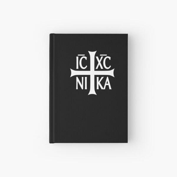 IC XC NIKA cross christian orthodox  Hardcover Journal