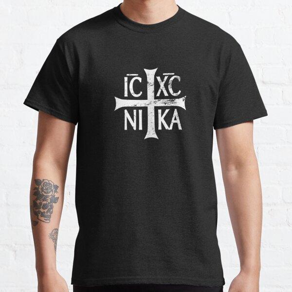 IC XC NIKA cross christian orthodox Retro Vintage Classic T-Shirt