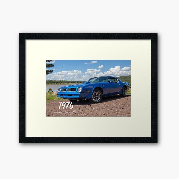 1976 Pontiac Trans Am 400 Framed Art Print