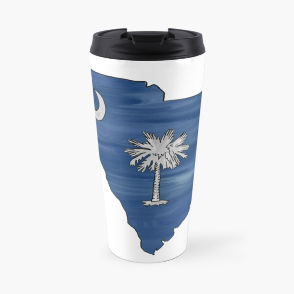 South Carolina Palmetto Moon Travel Mug