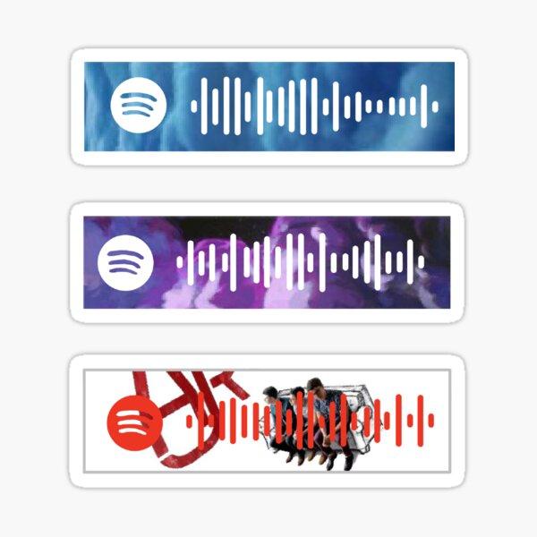 AJR album Spotify Scans Sticker