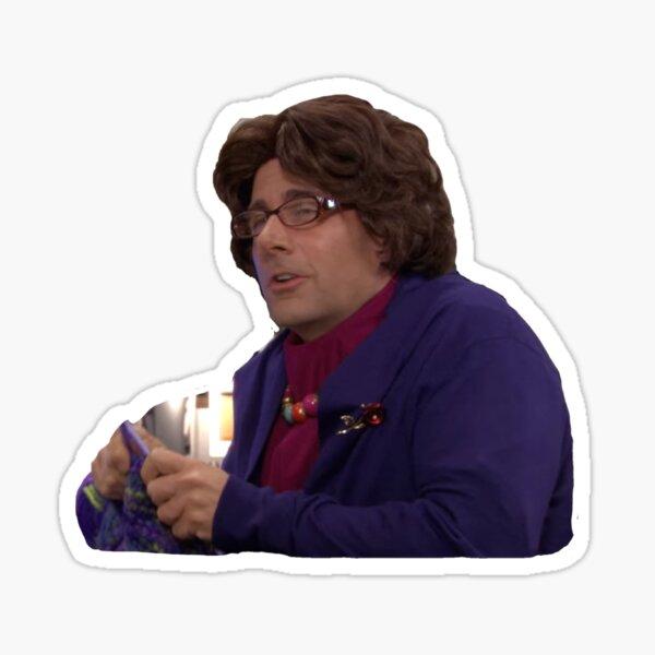 Michael is Phyllis Sticker