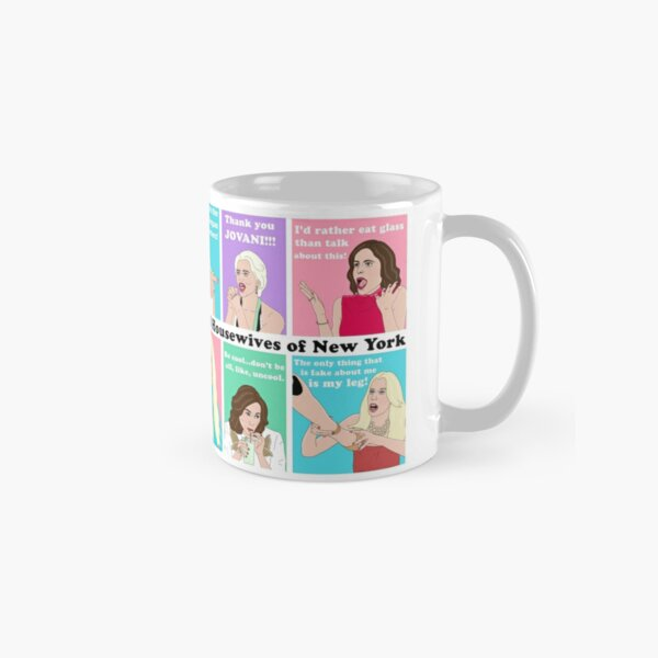 Real Housewives NY Drama Classic Mug