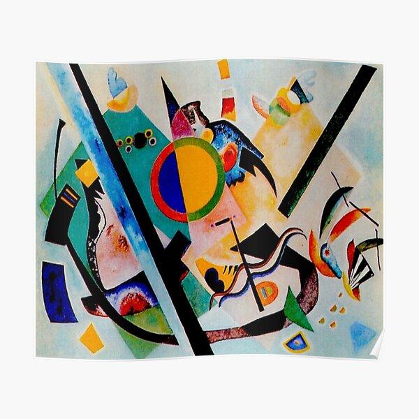 Wassily Kandinsky   Multicolored-Circle    Kandinsky Inspired Fine Art Poster