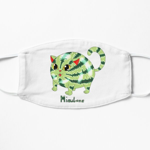 Miaulone: 1/2 Melone, 1/2 Katze Version 4 Flache Maske