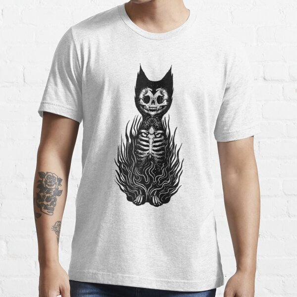 Gothic Black Cat Essential T-Shirt