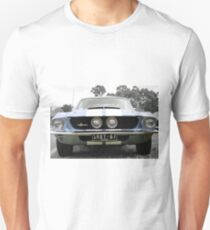 Full Frontal - Blue Mustang Unisex T-Shirt