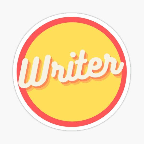 Vintage Writer  Sticker