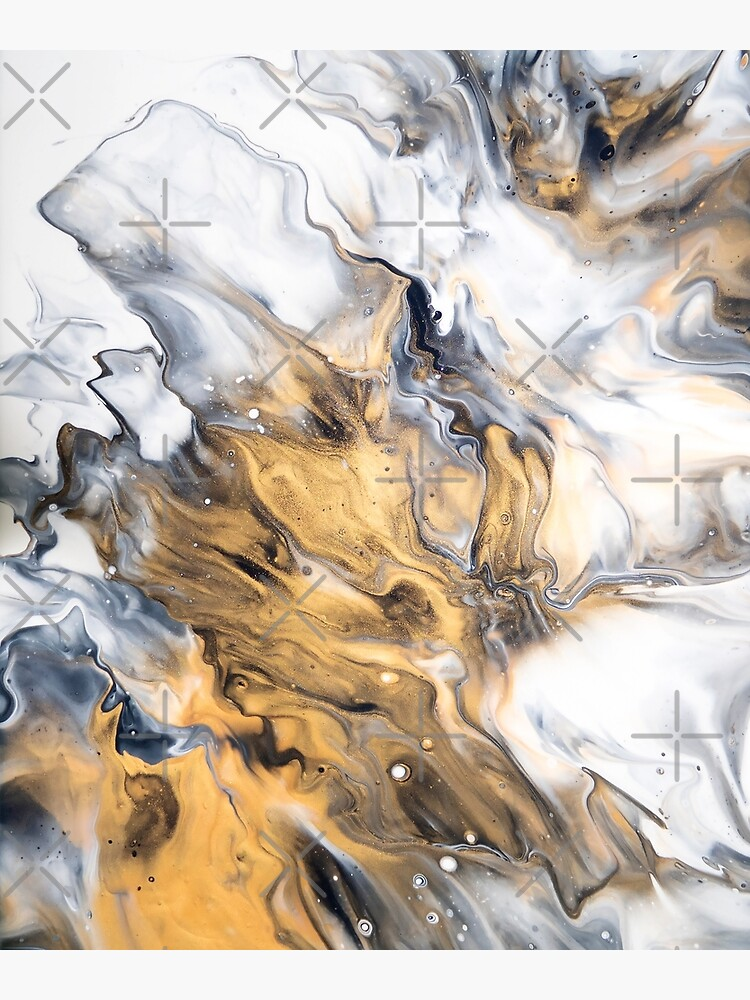 Gold Marble by OrenjiDesign