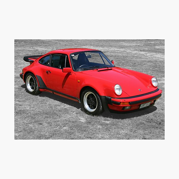 1985 Porsche 911 Turbo/Porsche 930 Photographic Print