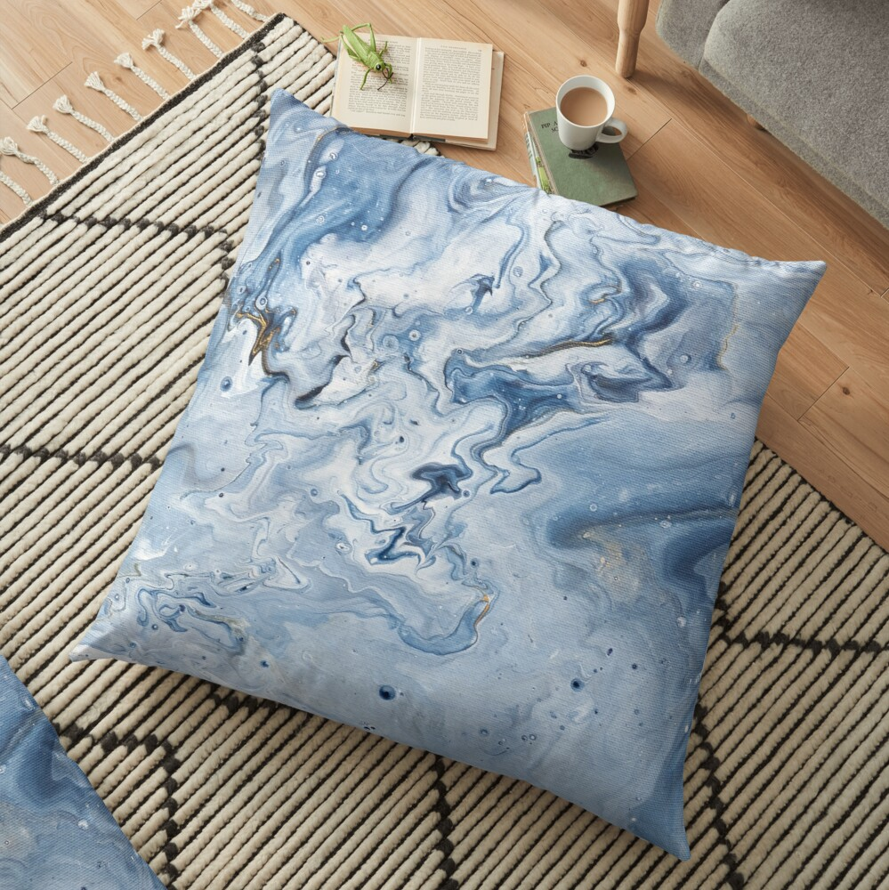 Shallow Waters Floor Pillow